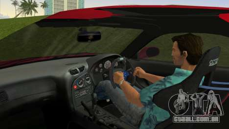 Mazda RX7 FD3S RE Amamiya Road Version para GTA Vice City vista traseira
