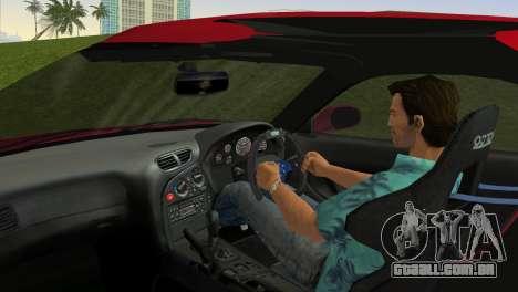 Mazda RX7 FD3S RE Amamiya Road Version para GTA Vice City vista traseira