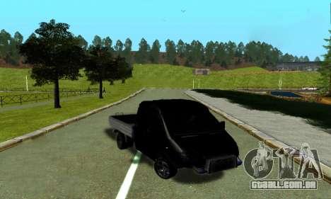 GAZ 3302 V8 Demônios para GTA San Andreas esquerda vista