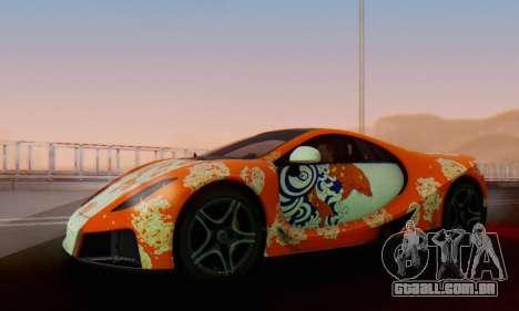 GTA Spano 2014 IVF para as rodas de GTA San Andreas