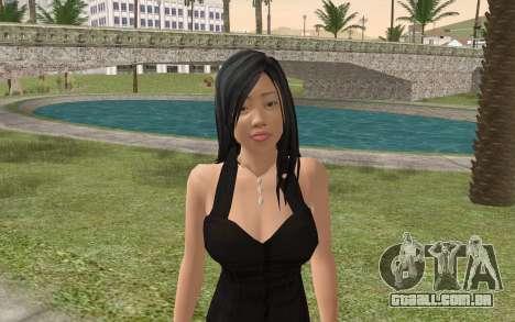 Casual Girl para GTA San Andreas terceira tela