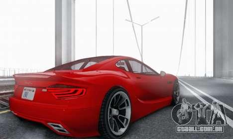 Hijak Khamelion V1.0 para GTA San Andreas vista traseira