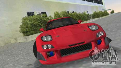 Mazda RX7 FD3S RE Amamiya Road Version para GTA Vice City vista traseira esquerda