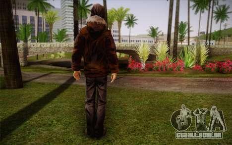 William Carver из The Walking Dead para GTA San Andreas segunda tela
