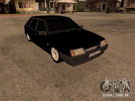 VAZ 2109 Bandido V 1.0 para GTA San Andreas traseira esquerda vista