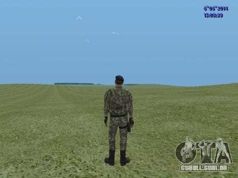 USSR Special Forces para GTA San Andreas segunda tela