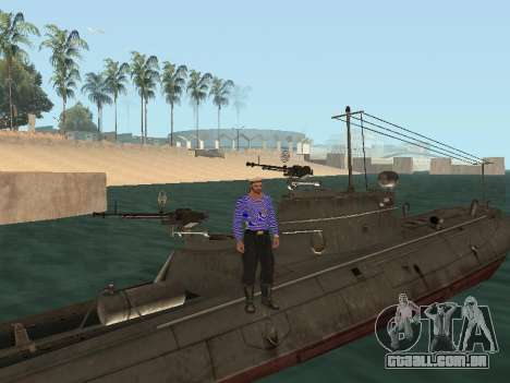 Torpedeiros do tipo G-5 para o motor de GTA San Andreas