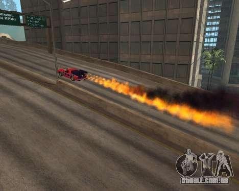 Rocket Picador GT para GTA San Andreas vista direita