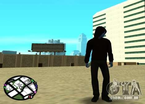 O poder do novo homem-aranha 2 para GTA San Andreas segunda tela