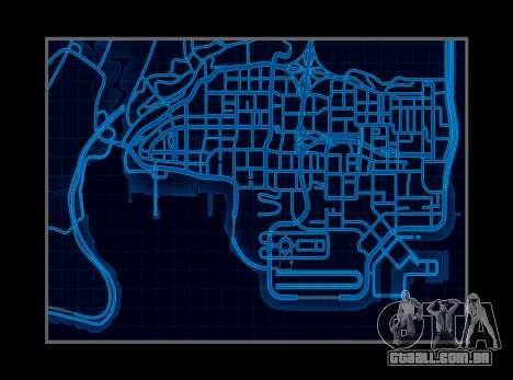 Mapa estilo de need For Speed World para GTA San Andreas