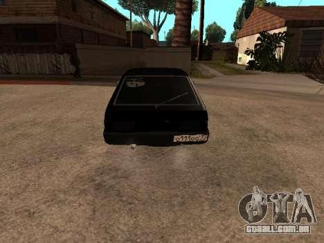 VAZ 2109 Bandido V 1.0 para GTA San Andreas esquerda vista