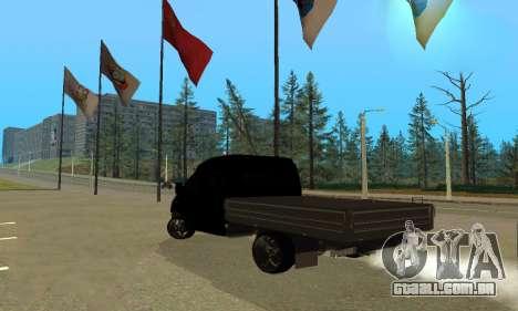 GAZ 3302 V8 Demônios para GTA San Andreas vista direita