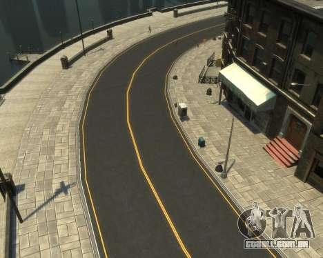 New Roads  (Textures - HD) para GTA 4 quinto tela
