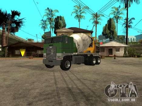 Transportadora de cimento do GTA 4 para GTA San Andreas