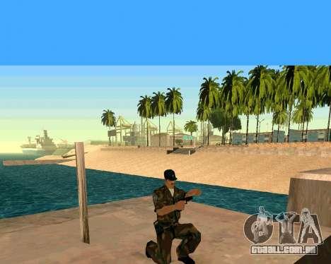Glock из Cutscene para GTA San Andreas por diante tela