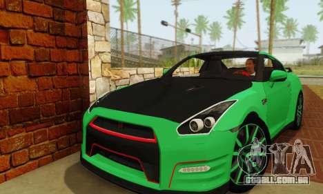 Nissan GTR Streets Edition para GTA San Andreas