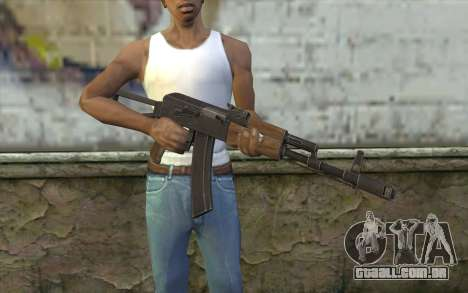 AK74 Rifle para GTA San Andreas terceira tela