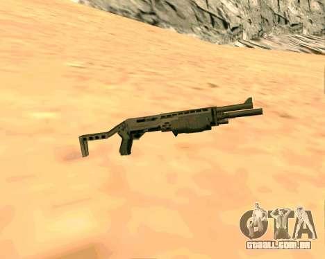 SPAS-12 из Vice City Stories para GTA San Andreas