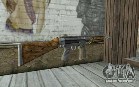 R91 Assault Rifle para GTA San Andreas segunda tela