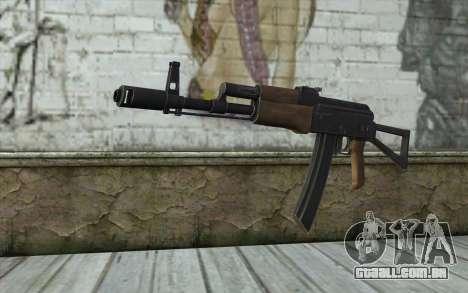 AK74 Rifle para GTA San Andreas
