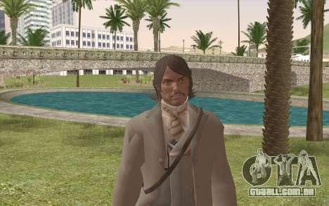 John Marston Gentleman Attire para GTA San Andreas terceira tela
