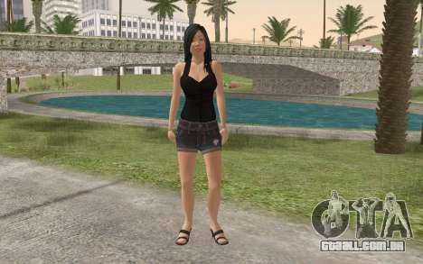 Casual Girl para GTA San Andreas