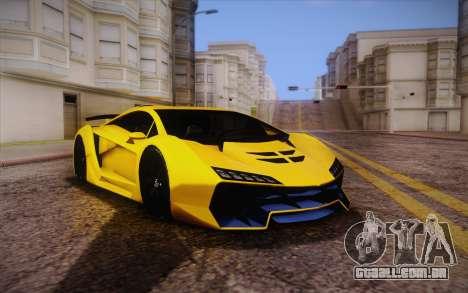Zentorno из GTA 5 para GTA San Andreas