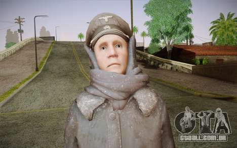 Friedrich Steiner из CoD: Black Ops para GTA San Andreas terceira tela