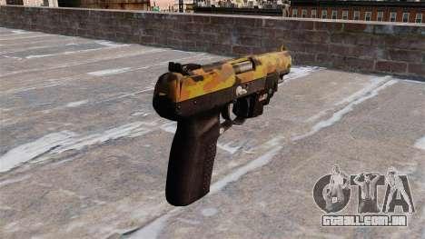 Arma FN Cinco sete LAM Cair para GTA 4 segundo screenshot