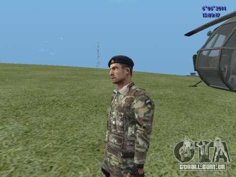 USSR Special Forces para GTA San Andreas por diante tela
