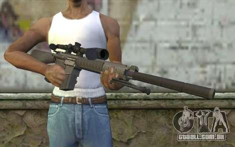 SC25 Sniper Rifle para GTA San Andreas terceira tela