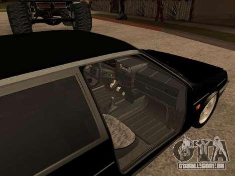 VAZ 2109 Bandido V 1.0 para GTA San Andreas vista direita