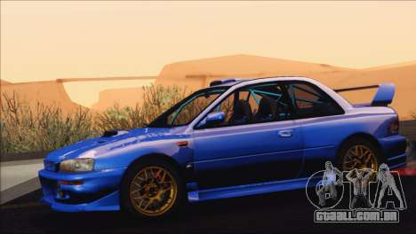 Subaru Impreza 22B STi 1998 para GTA San Andreas vista direita