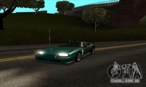 Mod ENB muito fraco PC para GTA San Andreas segunda tela