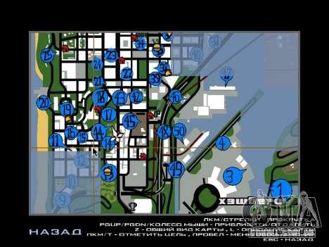 Hidden Photos Map para GTA San Andreas