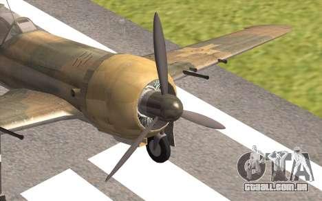 IAR 80 - Romania No 91 para GTA San Andreas vista traseira