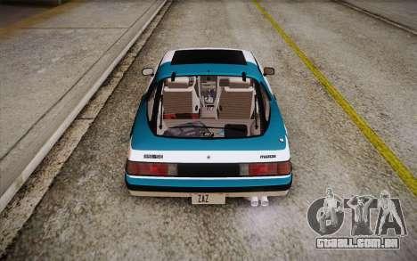 Mazda RX-7 GSL-SE 1985 HQLM para o motor de GTA San Andreas