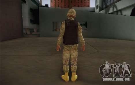 Sedena para GTA San Andreas segunda tela