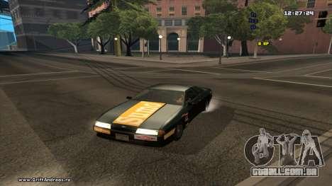 Elegy-Hotring para GTA San Andreas traseira esquerda vista
