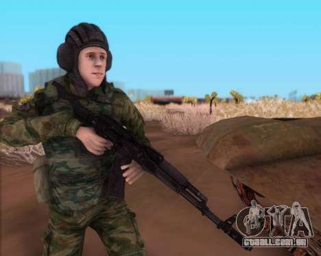 Kalashnikov AK-74M para GTA San Andreas terceira tela