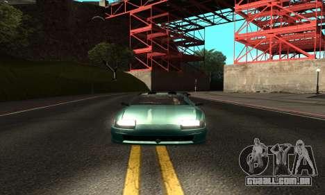 Mod ENB muito fraco PC para GTA San Andreas terceira tela