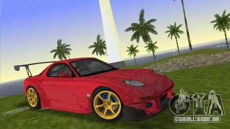 Mazda RX7 FD3S RE Amamiya Road Version para GTA Vice City