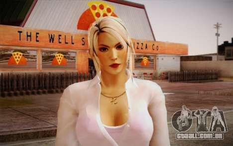 Sarah from DoA para GTA San Andreas terceira tela