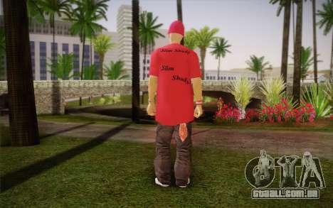 Eminem para GTA San Andreas segunda tela
