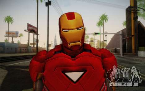 Homem de ferro para GTA San Andreas terceira tela