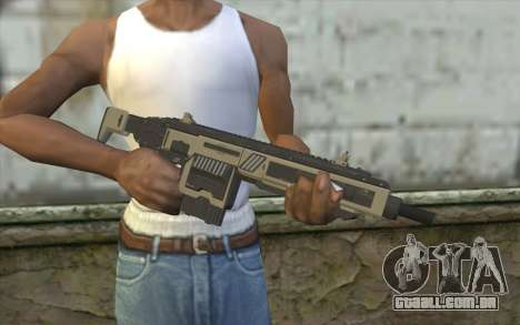 NS-11A Assault Rifle from Planetside 2 para GTA San Andreas terceira tela