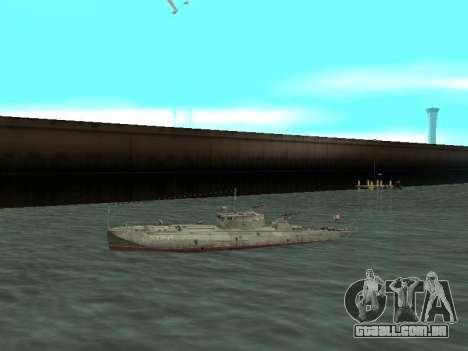 Torpedeiros do tipo G-5 para GTA San Andreas