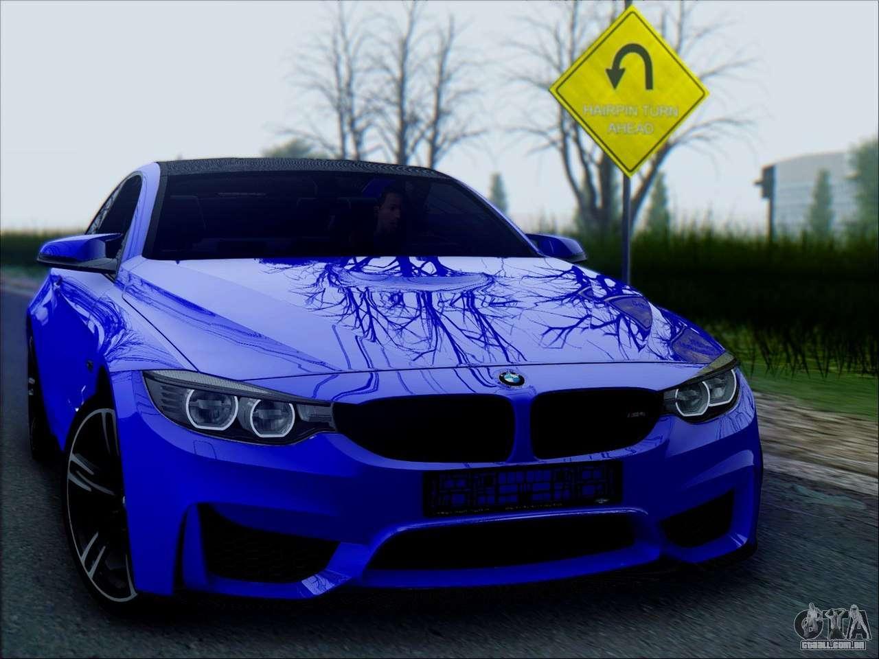 BMW M4 Coupe >> BMW M4 para GTA San Andreas