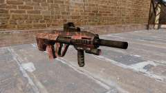 Máquina de Steyr AUG-A3 Vermelho tigre