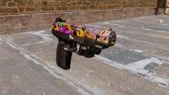Arma FN Cinco sete LAM Graffitti